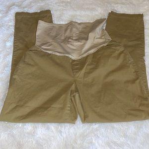 GAP khaki maternity pants